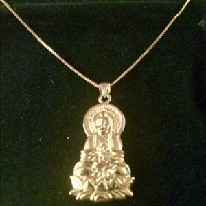 Jewelry - Kwan Yin pendant with chain